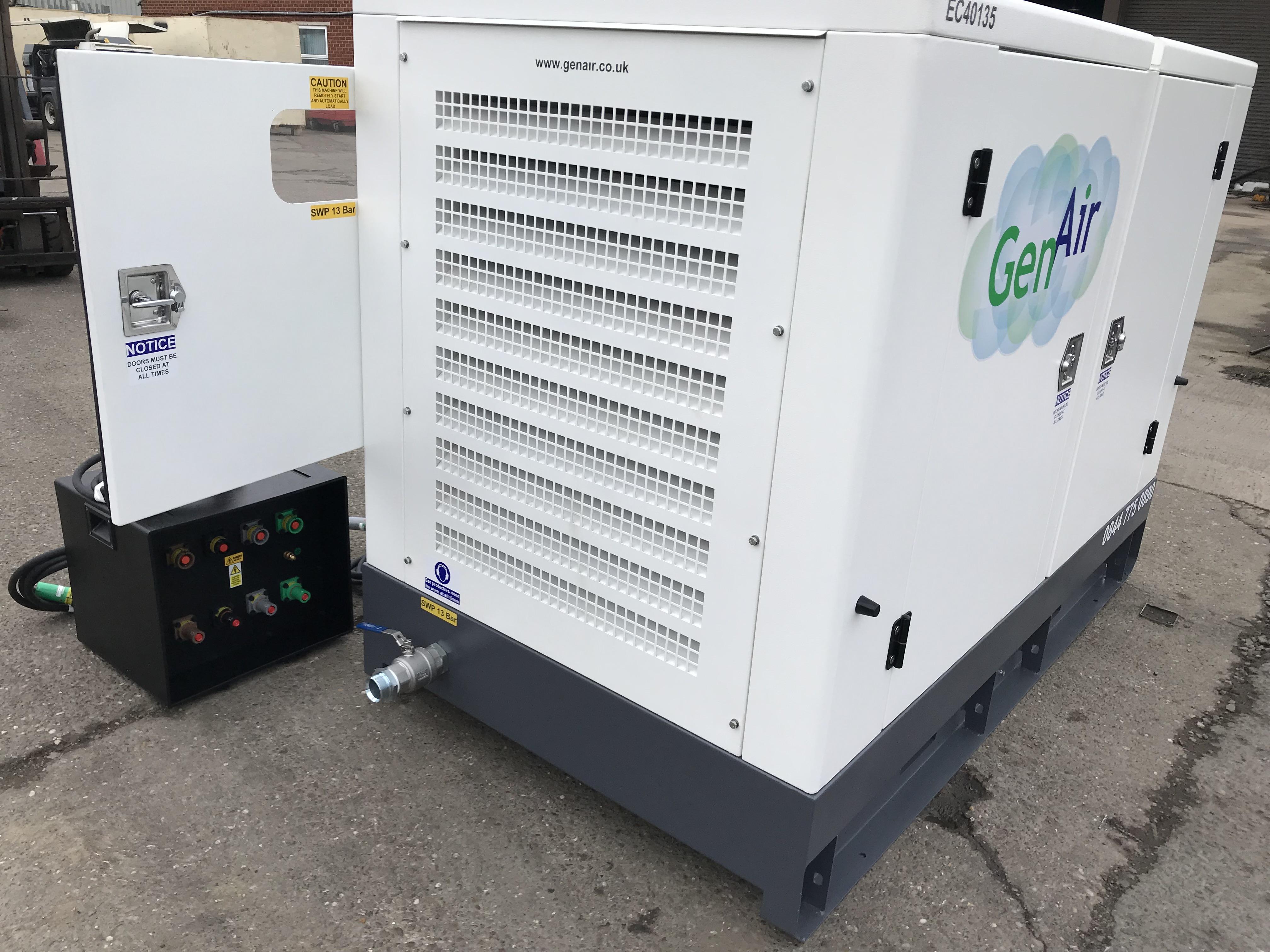 Zero emission compressors