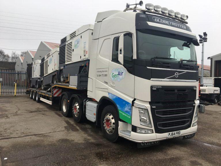 Two Diesel Mobile Compressors Supplied to Major Car Manufacturer