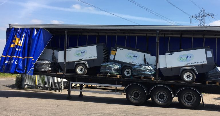 GenAir hires mobile compressors into Ireland