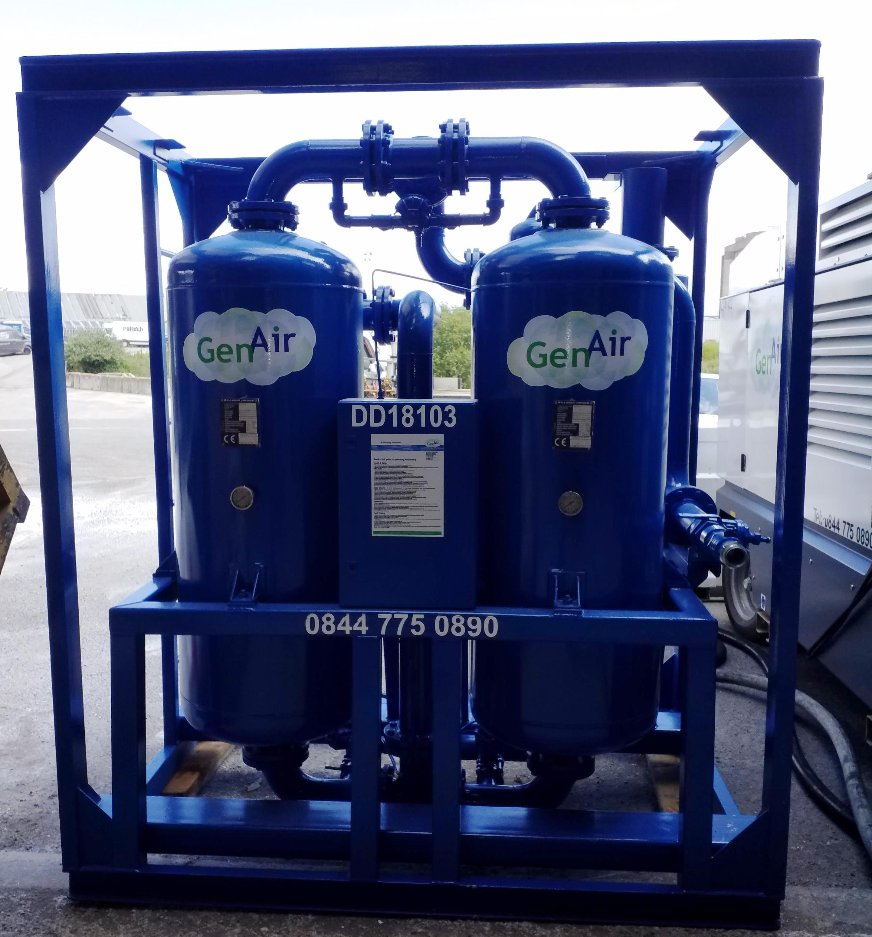 Oil Free Compressed Air Dryer