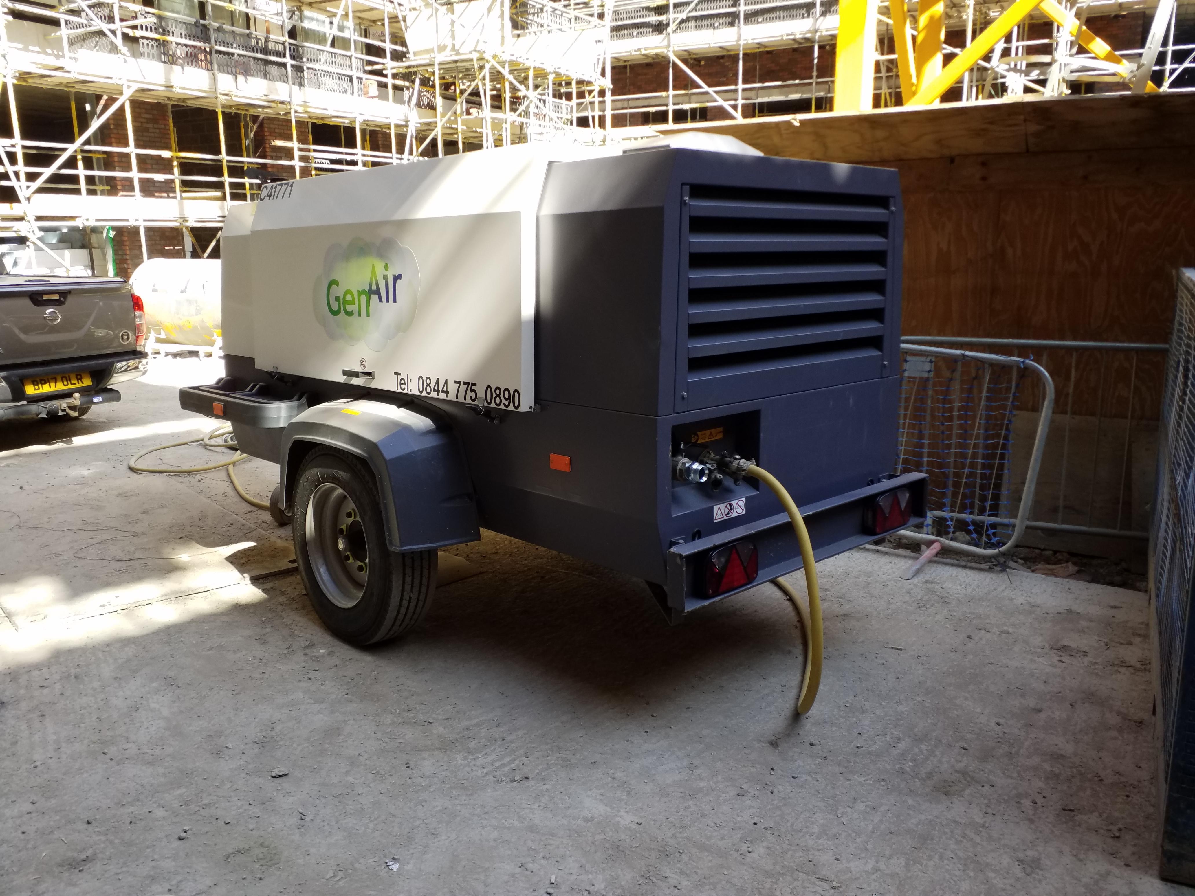 Low emission compressors